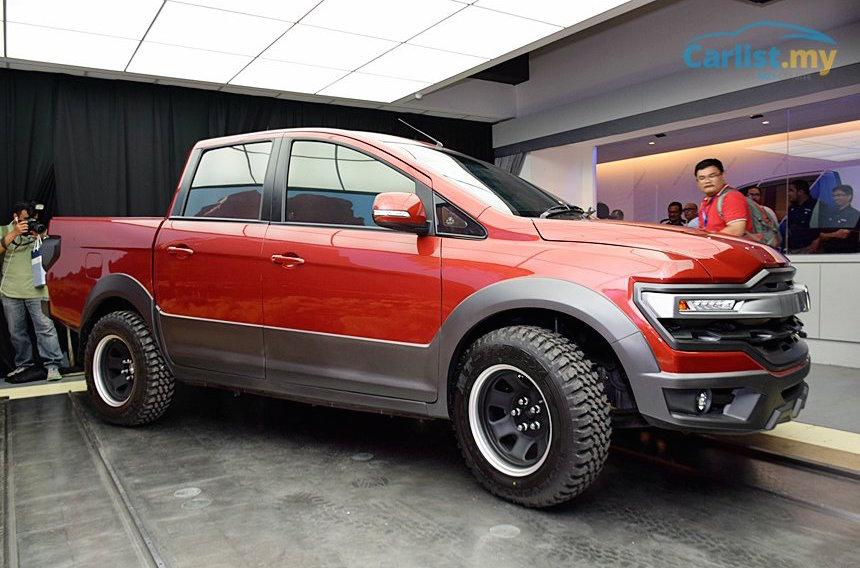 Proton reveals interesting pickup ute concept at Alami Carnival | PerformanceDrive