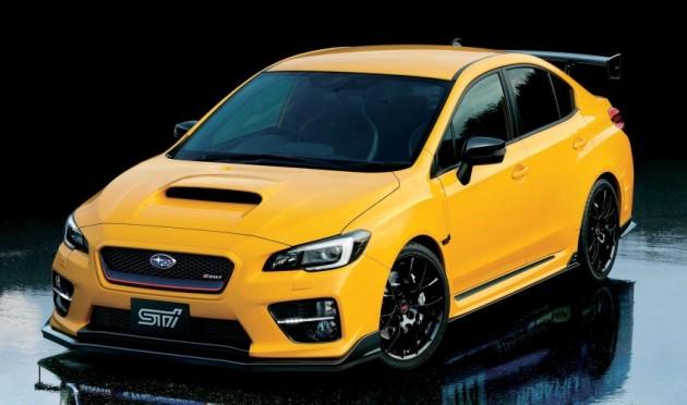2015 Subaru WRX STI S207 Yellow Edition