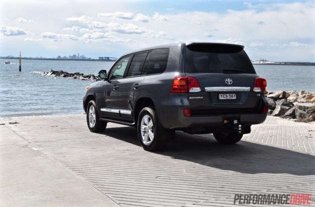2015 Toyota LandCruiser Sahara-rear