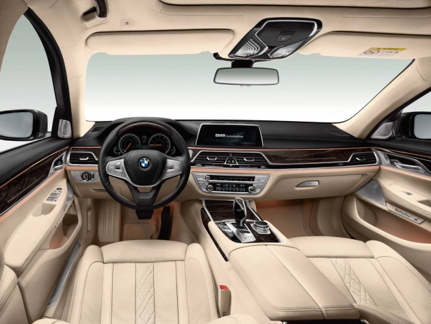 2016 BMW 7 Series-interior