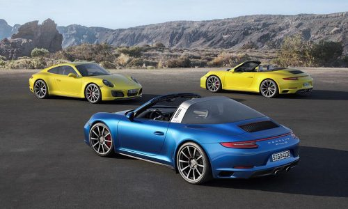 2016 Porsche 911 Carrera 4 on sale in Australia from $233,900