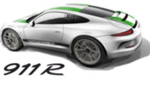 Is this the rumoured, manual-only Porsche 911 R?