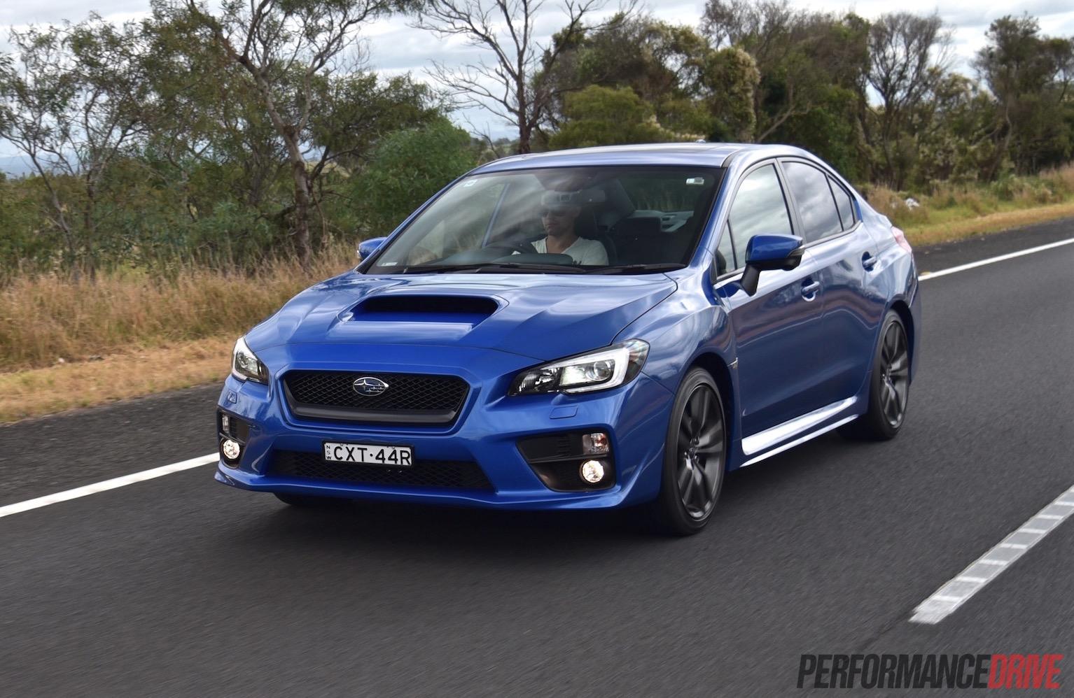 2016 Subaru Wrx Review Manual Amp Cvt Auto Video