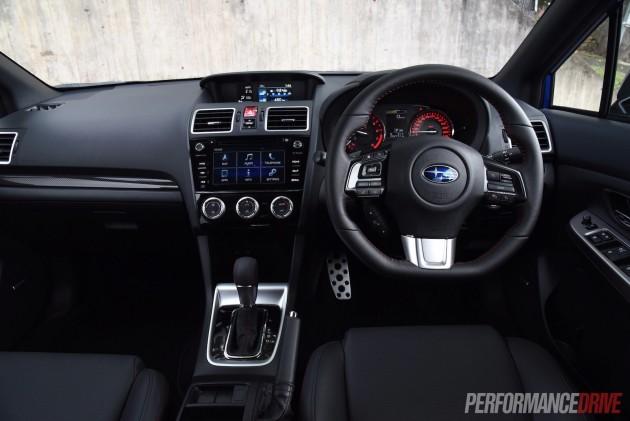 2016 Subaru WRX Premium-dash
