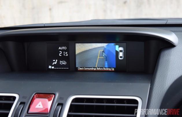 2016 Subaru WRX Premium-side camera