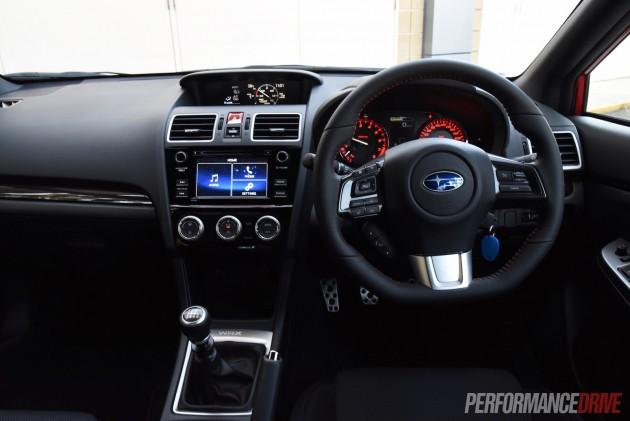 2016 Subaru WRX-dash
