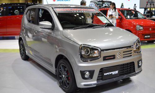 New Suzuki Alto Works micro machine debuts at Tokyo show