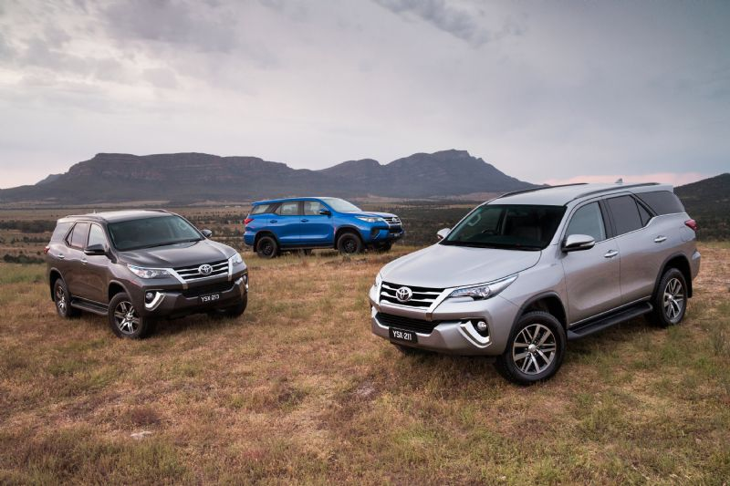 2016 Toyota Fortuner 7 Seat Suv On Sale In Australia From