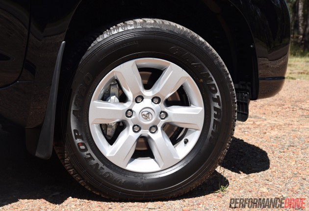 2016 Toyota LandCruiser Prado GXL-17in wheels