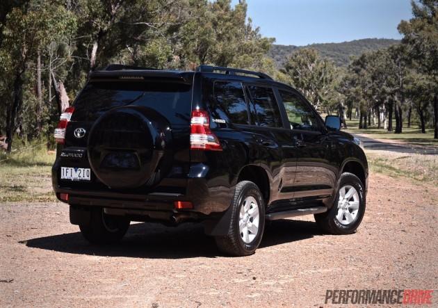 2016 Toyota LandCruiser Prado GXL-rear