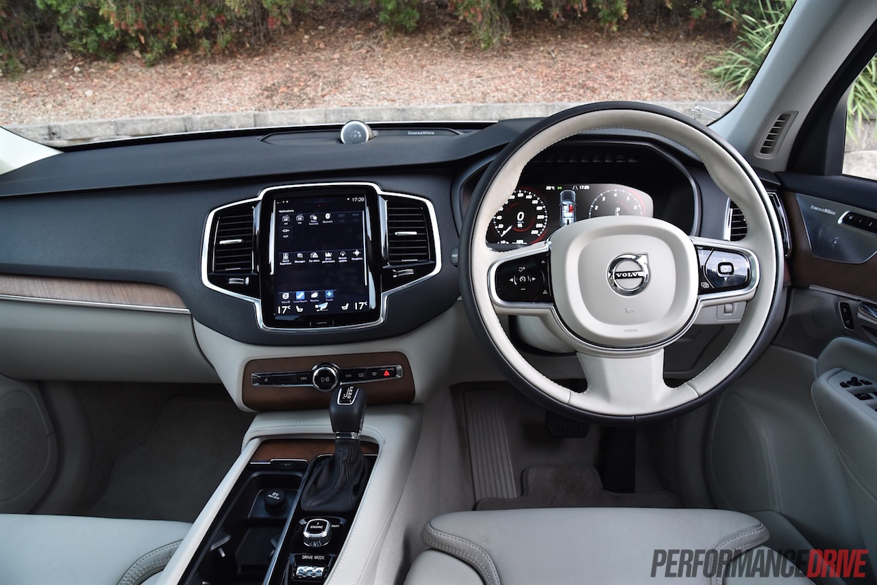 Video: 2016 Volvo XC90 T6 review (POV) on PDriveTV | PerformanceDrive