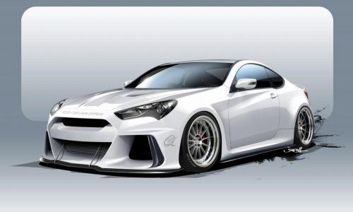 ARK Performance developing 500hp Hyundai Genesis for SEMA