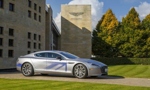 Aston Martin RapidE concept previews future EV