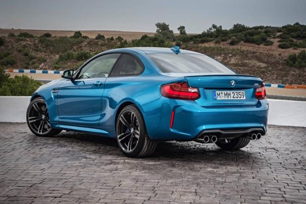 BMW M2 coupe-rear