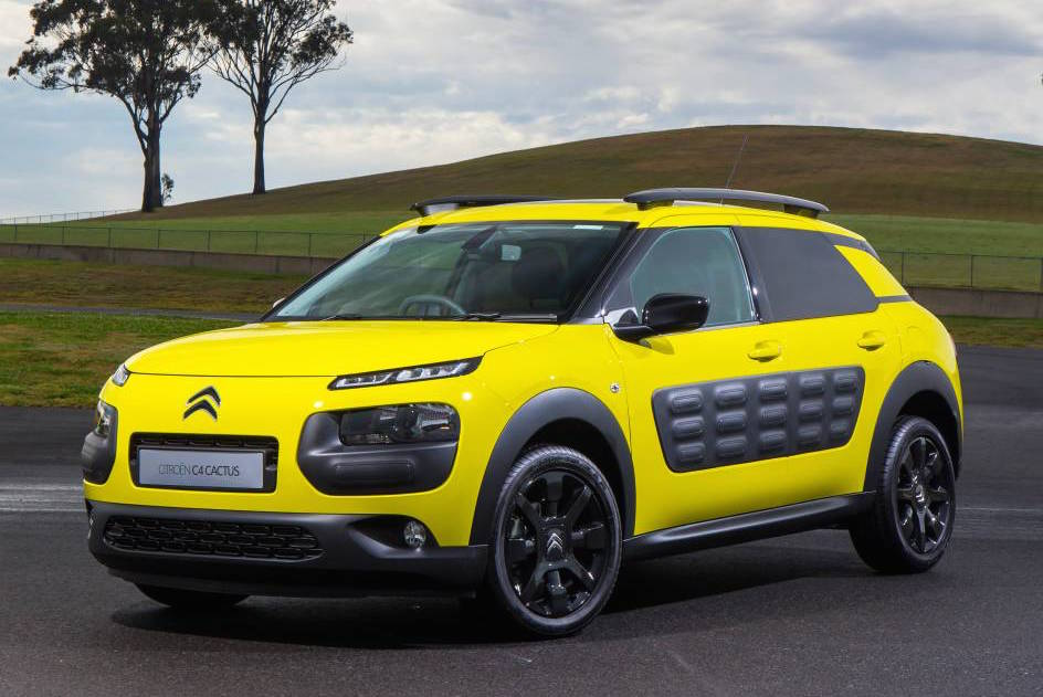 Citroen C4 Cactus On Sale In Australia Early 2016 From
