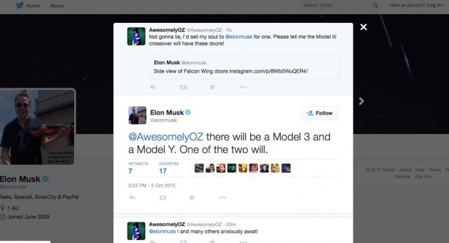 Elon Musk-Tesla Model Y