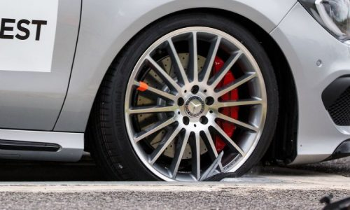 Are fake wheels safe? Holden & Mercedes team up to find out