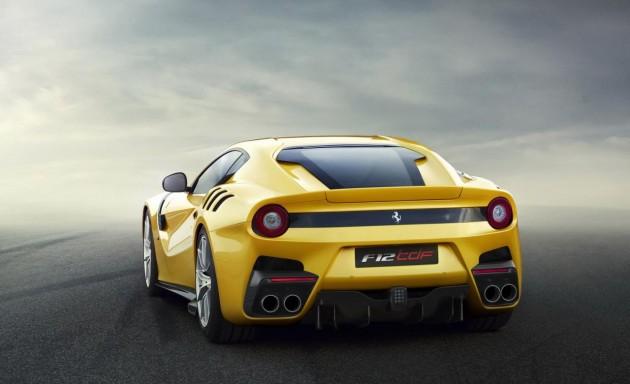 Ferrari F12tdf-rear
