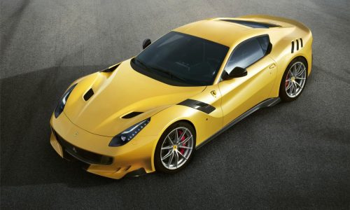 Ferrari F12tdf unveiled; more power, less weight