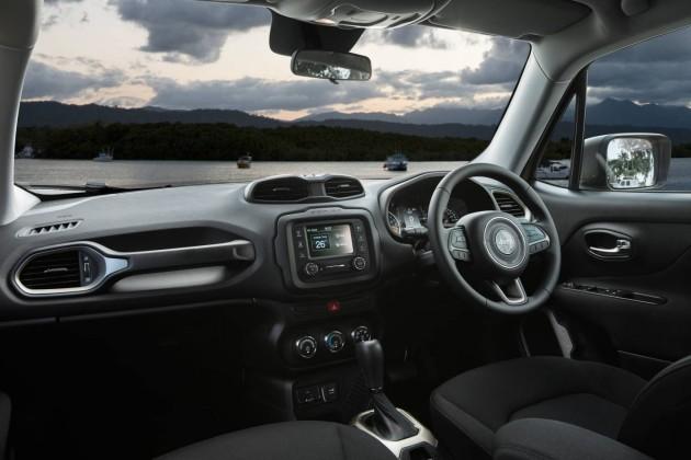 Jeep Renegade-interior