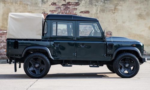 For Sale: 2013 Land Rover Defender pickup, modified by Kahn Design