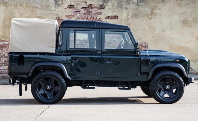 Kahn Land Rover Defender pickup-side
