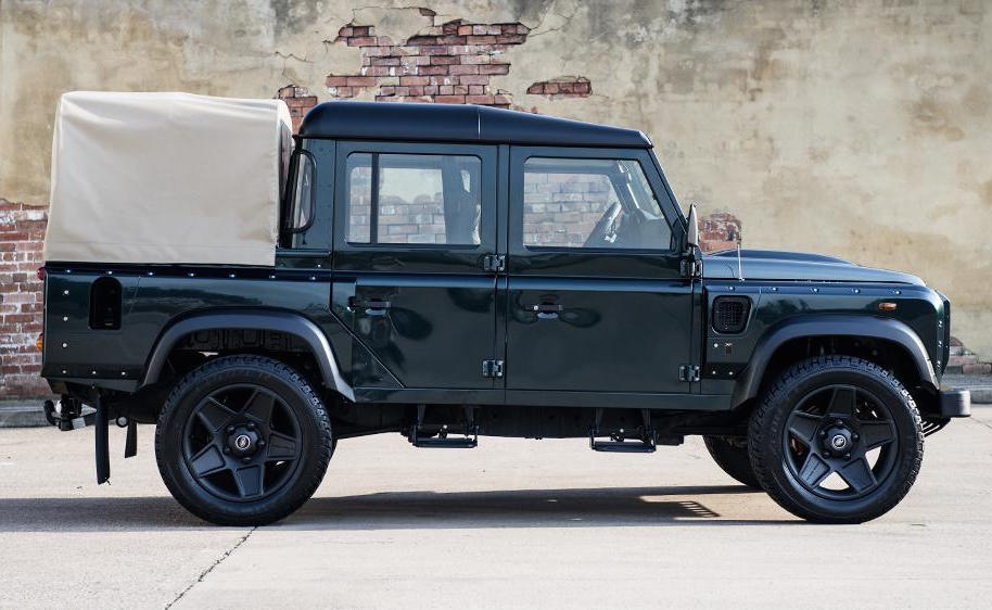 Land Rover Floor Mats >> For Sale: 2013 Land Rover Defender pickup, modified by Kahn Design | PerformanceDrive