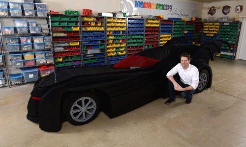 Lego Batmobile heading to Art of the Brick exhibition in Sydney