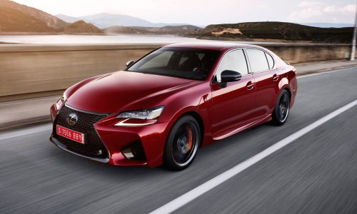 Lexus GS F on sale in Australia in February