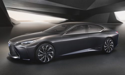 Lexus LF-FC concept revealed, previews next-gen LS