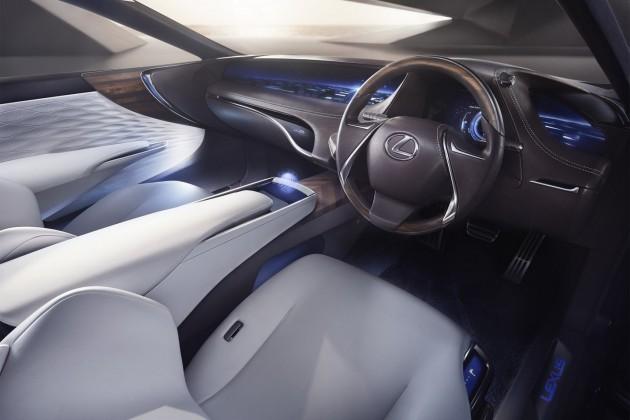 Lexus LF-FC concept-interior