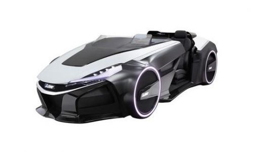 Mitsubishi EMIRAI 3 xDAS concept previews futuristic monitoring tech