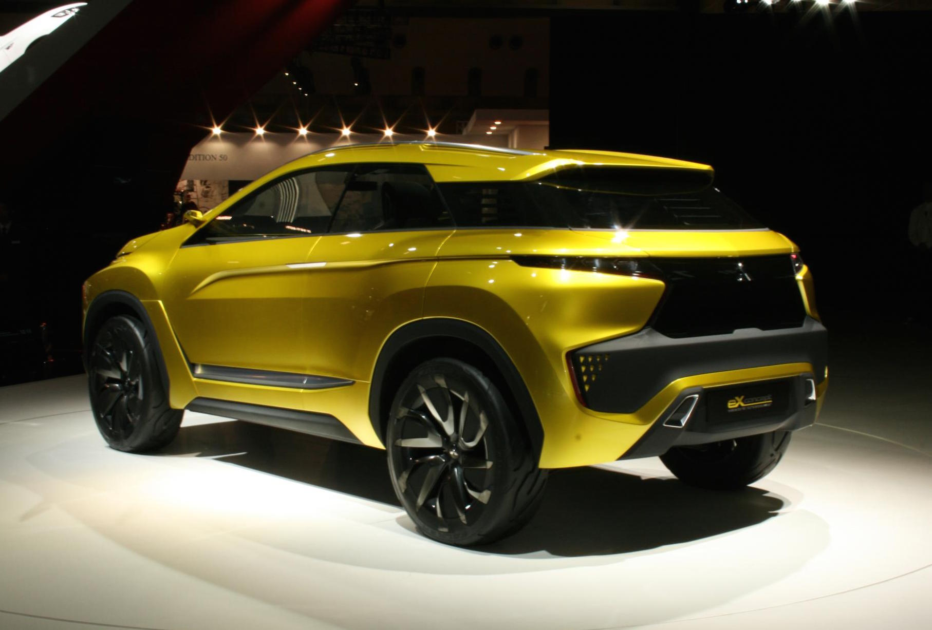 Mitsubishi Outlander Phev >> Mitsubishi eX concept previews new SUV to slot between ASX ...