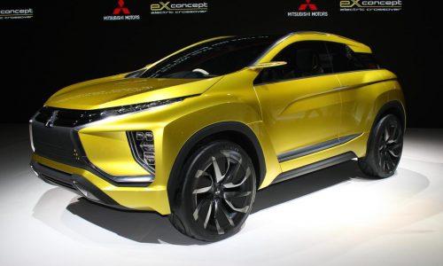 Mitsubishi eX concept previews new SUV to slot between ASX & Outlander