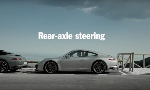 Video: Porsche's new rear-axle steering system explained