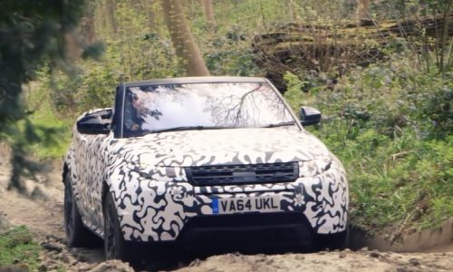 Range Rover Evoque Convertible production to be limited