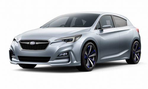 Subaru previews future Impreza with stylish concept