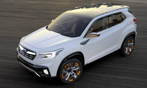 Subaru VIZIV & Impreza concepts preview next-gen Forester & Impreza