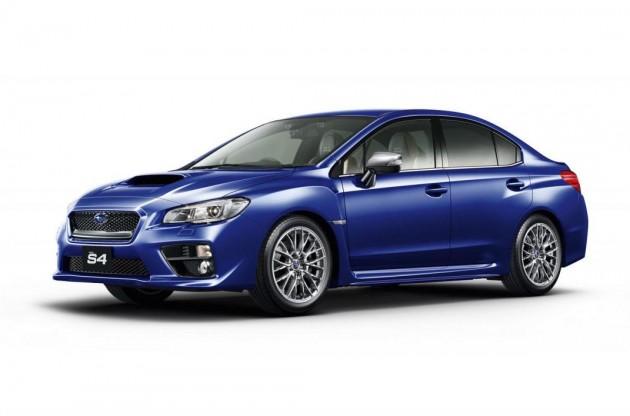 Subaru WRX S4 SporVita-blue