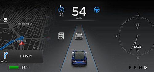 Tesla announces 7.0 software update with Autopilot technologies