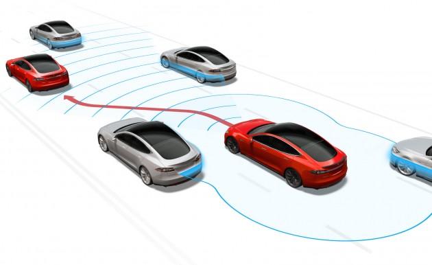 Tesla Model S Autopilot