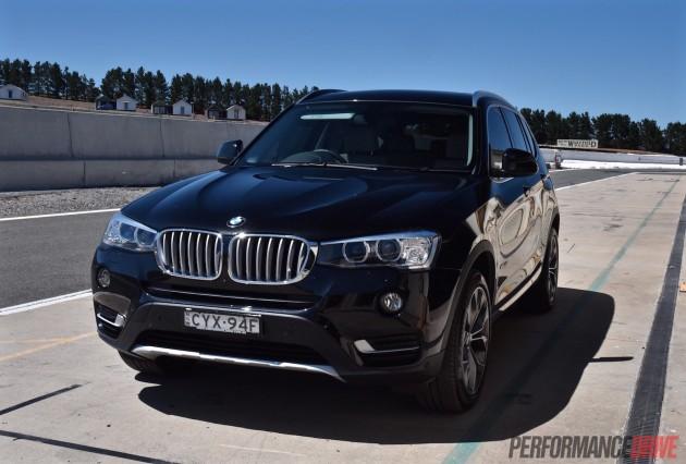 2015 BMW X3-track test