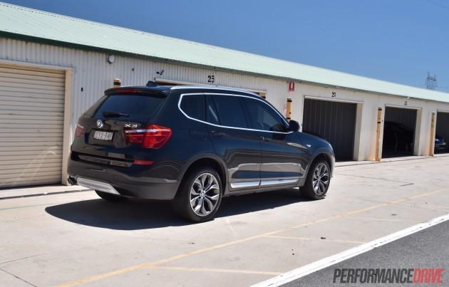 2015 BMW X3 xDrive30d-track test