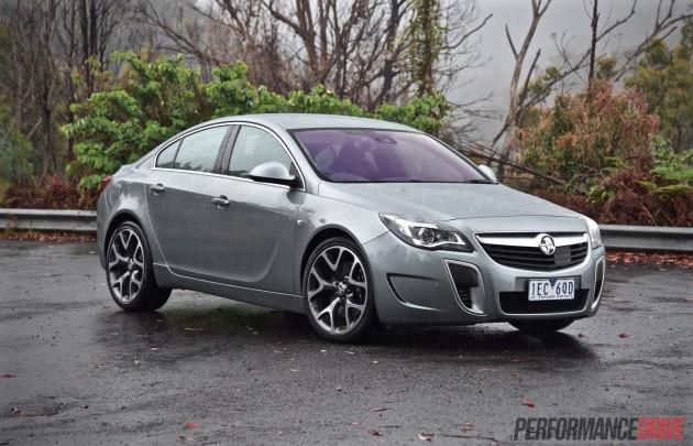 2015 Holden Insignia VXR-silver