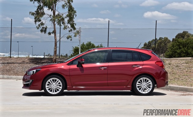 2015 Subaru Impreza 2.0i-S-Australia