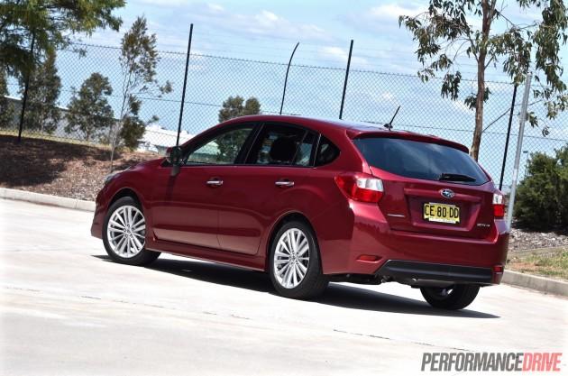 2015 Subaru Impreza 2.0i-S hatch