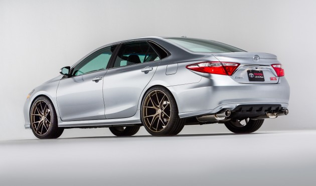 2015 TRD Toyota Camry rear