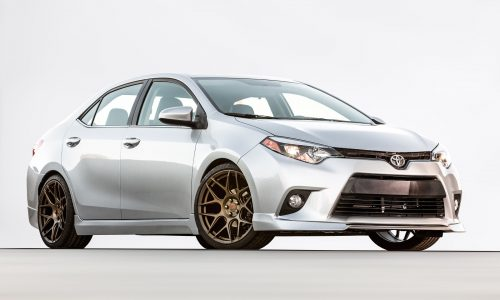 Toyota shows TRD Corolla & TRD Camry potential at SEMA