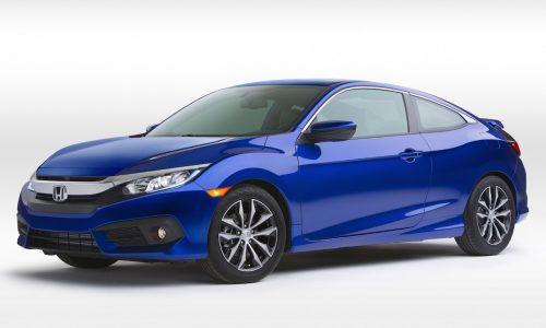 2016 Honda Civic Coupe unveiled at LA auto show