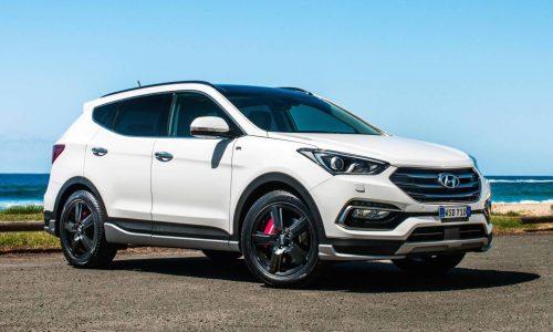 2016 Hyundai Santa Fe Series II on sale in Australia from $38,490